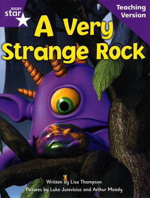 Fantastic Forest Purple Level Fiction A Very Strange Rock Teaching Version by Catherine Baker