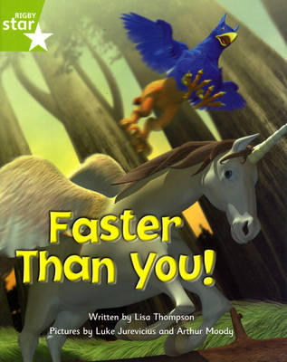 Fantastic Forest: Faster Than You! Green Level Fiction (Pack of 6) by Lisa Thompson, Catherine Baker