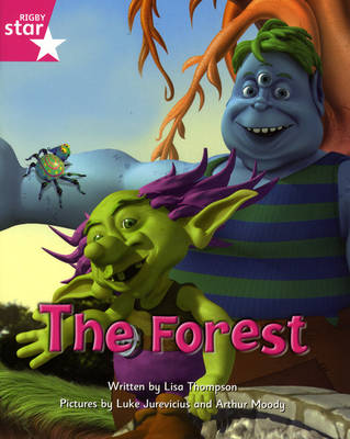 Fantastic Forest: The Forest (Pink Level) (Pack of 6) by Catherine Baker