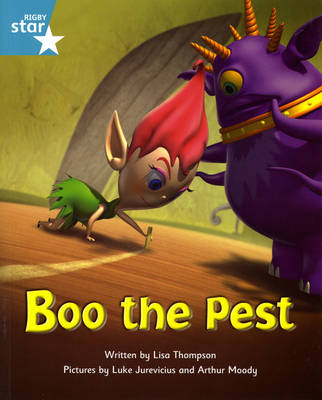Fantastic Forest: Boo the Pest Turquoise Level Fiction (Pack of 6) by Lisa Thompson, Catherine Baker