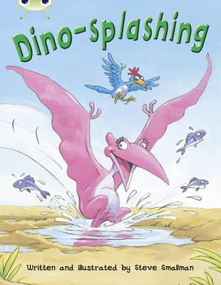Dino-Splashing Turquoise A/1a by Steve Smallman