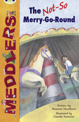Meddlers: The Not-So-Merry-Go-Round White B/2a by Maureen Haselhurst