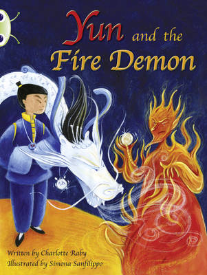 Yun and the Fire Demon Purple A/2c by Charlotte Raby