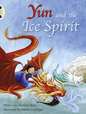 Yun and the Ice Spirit Turquoise B/1a by Charlotte Raby
