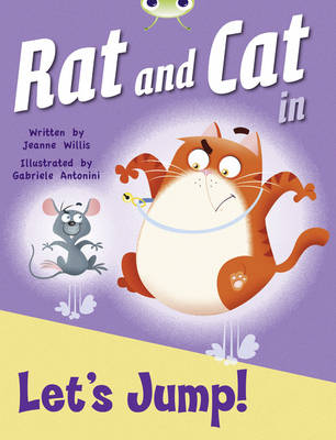 Rat and Cat in Let's Jump Red C (KS1) by Jeanne Willis