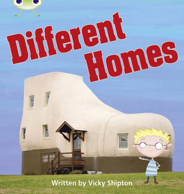 Different Homes Non-Fiction by Vicky Shipton