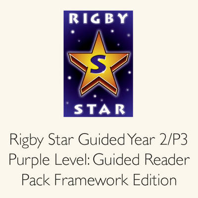 Rigby Star Guided Year 2/P3 Purple Level: Guided Reader Pack by Julia Jarman, Celia Warren, Julia Donaldson