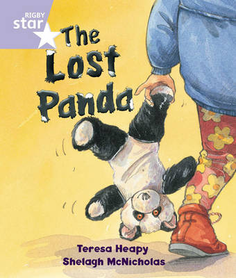 Rigby Star Guided Reception, Lilac Level: The Lost Panda Pupil Book (Single) by Teresa Heapy