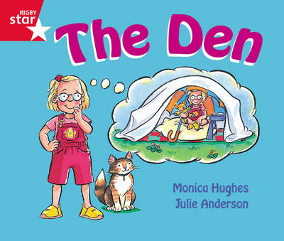 Rigby Star Guided Reception Red Level: The Den Pupil Book (Single) by