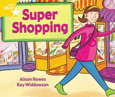 Rigby Star Guided 1 Yellow Level: Super Shopping Pupil Book (Single) by