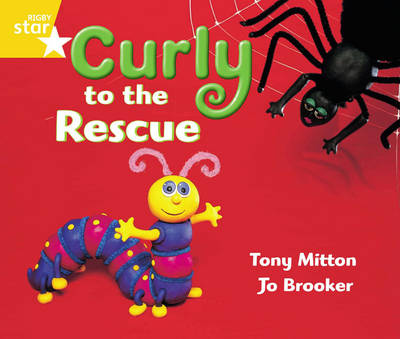 Rigby Star Guided Year 1 Yellow Level: Curly to the Rescue Pupil Book (Single) by