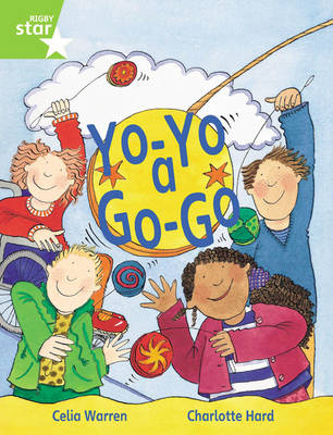 Rigby Star Guided 1 Green Level: Yo-Yo a Go-Go Pupil Book (Single) by Celia Warren
