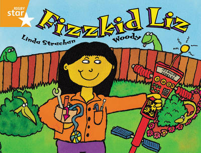 Rigby Star Guided 2 Orange Level: Fizzkid Lipupil Book (Single) by