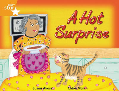 Rigby Star Guided 2 Orange Level, A Hot Surprise Pupil Book (single) by Susan Akass