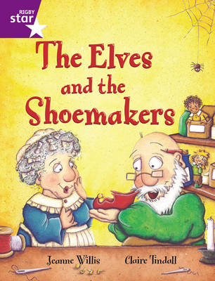 Rigby Star Guided 2 Purple Level: The Elves and the Shoemaker Pupil Book (Single) by
