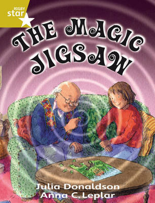 Rigby Star Guided 2 Gold Level: The Magic Jigsaw Pupil Book (single) by Julia Donaldson