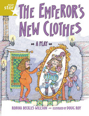 Rigby Star Guided 2 Gold Level: The Emperor's New Clothes Pupil Book (Single) by