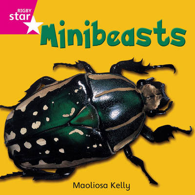Rigby Star Independent Pink Reader 2 Minibeasts by