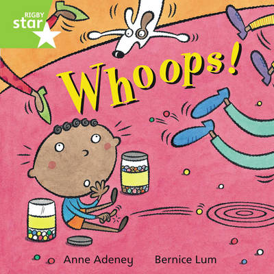 Rigby Star Independent Green Reader 5: Whoops! by