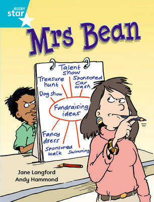 Rigby Star Independent Turquoise Reader 1: Mrs Bean by Jane Langford