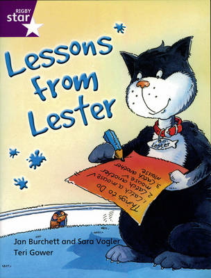 Rigby Star Indep Yr 2/P3 Purple Level: Lessons from Lester (3 Pack) by