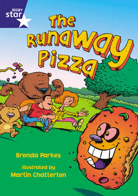Star Shared 1, The Runaway Pizza Big Book by Brenda Parkes