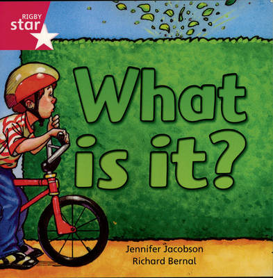 Rigby Star Independent Reception/P1 Pink Level: What is It? (3 Pack) by Jennifer Jacobson