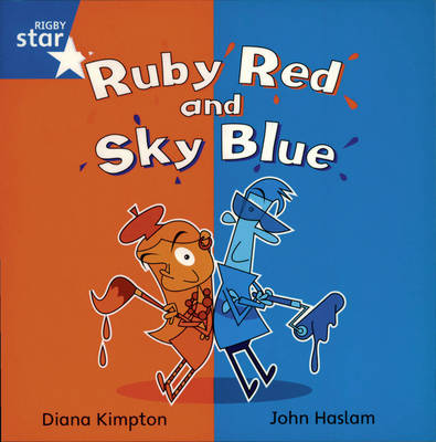 Rigby Star Independent Year 1 Blue Book 4 Group Pack by