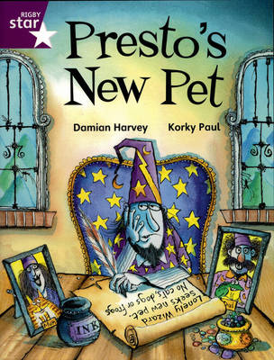 Rigby Star Independent Year 2/3P3 Purple Level: Presto's New Pet by