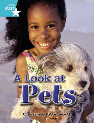 Rigby Star Independent Year 2 Turquoise Non Fiction A Look At Pets Single by