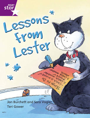 Rigby Star Independent Year 2 Purple Fiction: Lessons from Lester Single by