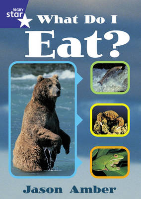 Star Shared: 1, What Do I Eat Big Book by Jason Amber