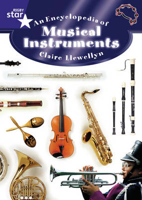 Star Shared: The Encyclopedia of Musical Instruments Big Book by Claire Llewellyn