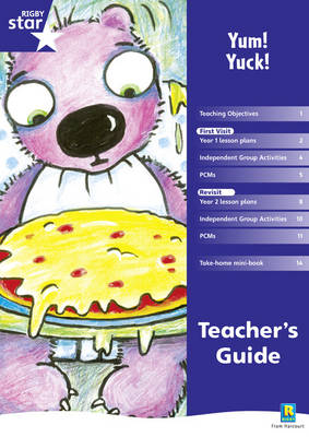 Rigby Star Shared Year 1 Fiction: Yum Yuck Teachers Guide by