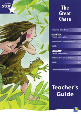 Rigby Star Shared Year 2 Fiction: The Great Chase Teachers Guide by