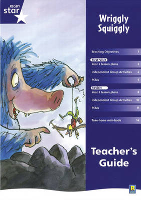Rigby Star Shared Year 2 Fiction: Wriggly Squiggly Teachers Guide by