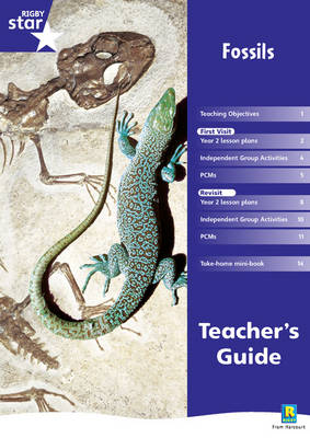 Rigby Star Shared Year 2 Non-fiction: Fossils Teachers Guide by