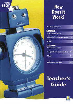 Rigby Star Shared Year 2 Non-fiction: How Does it Work? Teachers Guide by