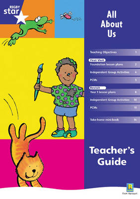Rigby Star Shared Reception Fiction: All About Us Teachers Guide by