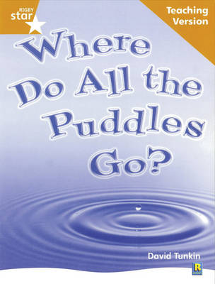 Rigby Star Non-Fiction Guided Reading Orange Level: Where Do All the Puddles Go? Teaching by
