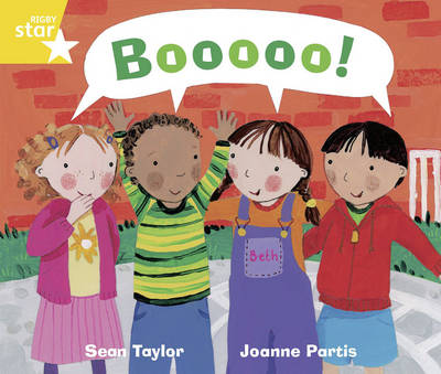 Rigby Star Guided Phonic Year 1/P2 Yellow: Boooo! (6 Pack) Framework Edition by