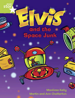 Rigby Star Guided Green Level Opportunity Readers: Elvis & the Space Junk by