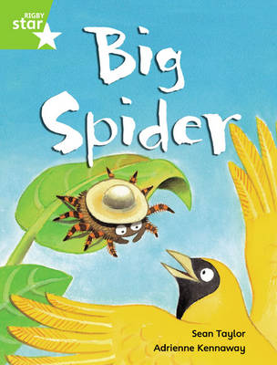 Rigby Star Guided Phonic Opportunity Readers Green: Big Spider (6 Pack) Framework Edition by