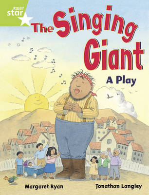 Rigby Star Guided 1/P2 Green Level: The Singing Giant - Play (6 Pack) Framework Edition by Margaret Ryan