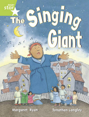 Rigby Star Guided 1/P2 Green Level: The Singing Giant - Story (6 Pack) Framework Edition by