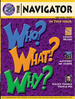 Navigator Non-Fiction Year 4/P5: Who Why What Book by