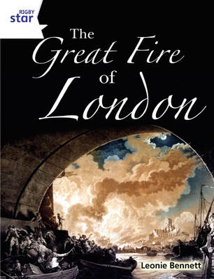 Rigby Star Guided Quest White: The Great Fire of London Pupil Book (Single) by