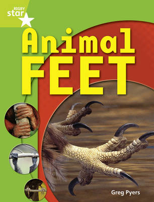 Rigby Star Guided Quest Year 1 Green Level: Animal Feet Reader Single by Greg Pyers