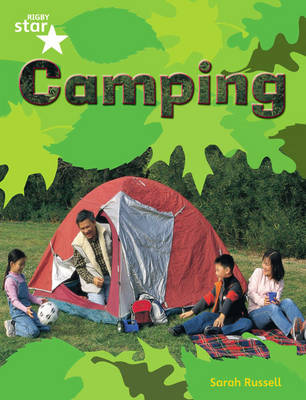 Rigby Star Guided Quest Green: Camping Pupil Book (Single) by