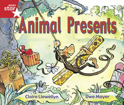 Rigby Star Guided Reception/P1 Red Level: Animal Presents (6 Pack) Framework Edition by Claire Llewellyn